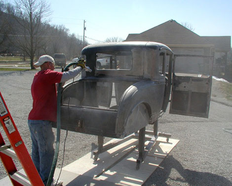 Chicago land's Mobile Soda Blasting Company